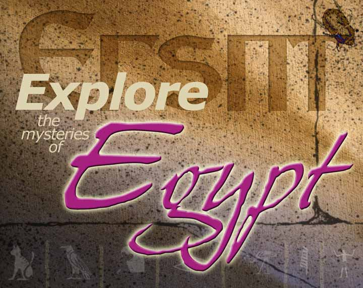 Egypt Travel Ad Layout