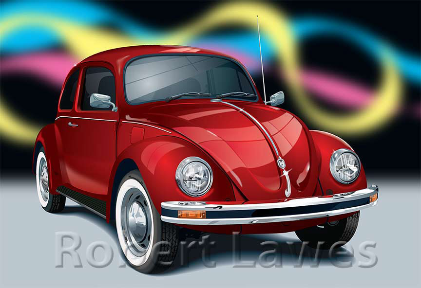 Volkswagen Illustration